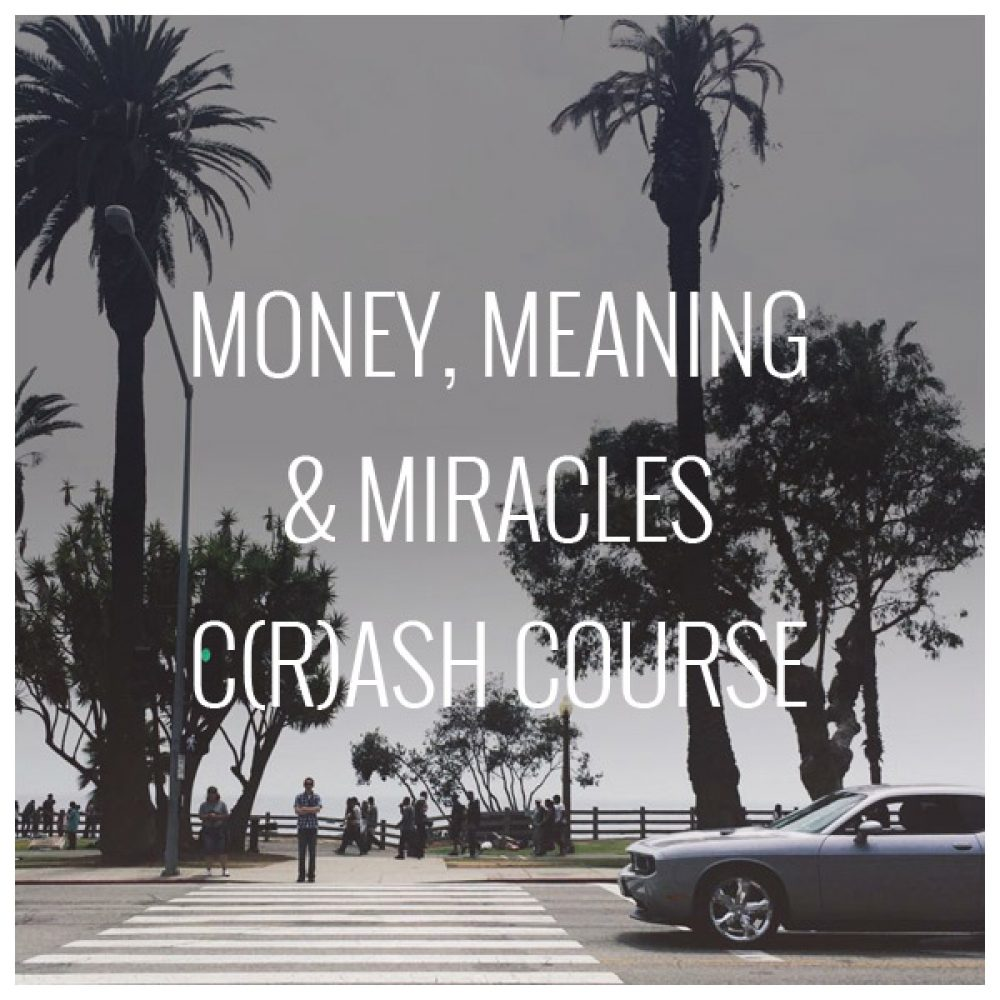 Money, Meaning & Miracles C(r)ash Course